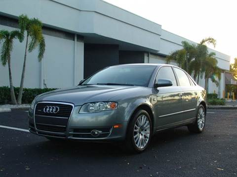 2006 Audi A4 for sale at Clearwater Auto Sales in Clearwater FL