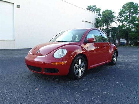 2006 Volkswagen New Beetle for sale at Clearwater Auto Sales in Clearwater FL