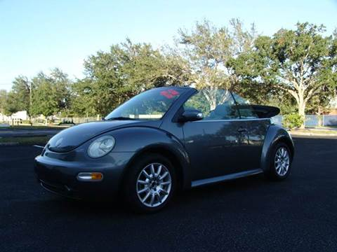 2004 Volkswagen New Beetle for sale at Clearwater Auto Sales in Clearwater FL