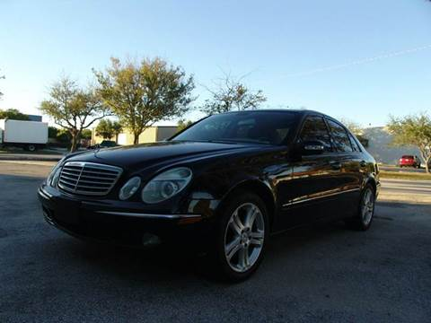 2006 Mercedes-Benz E-Class for sale at Clearwater Auto Sales in Clearwater FL