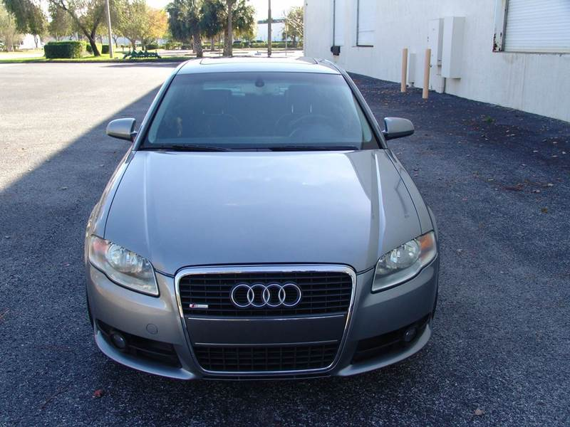 2006 Audi A4 2.0T 4dr Sedan  S-Line Automatic  - Clearwater FL