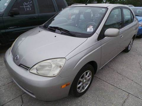 2002 Toyota Prius for sale at Clearwater Auto Sales in Clearwater FL