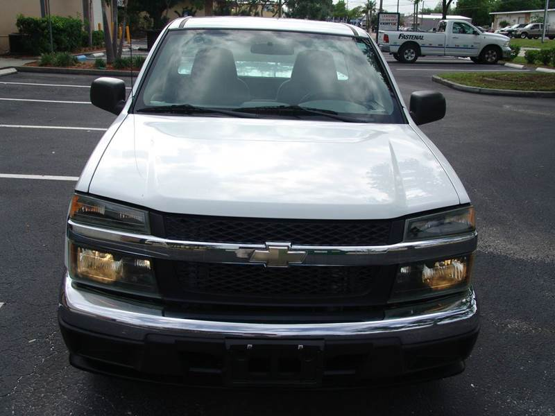 2007 Chevrolet Colorado Work Truck 2dr Regular Cab SB - Clearwater FL