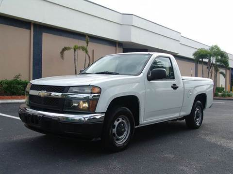 2007 Chevrolet Colorado for sale at Clearwater Auto Sales in Clearwater FL