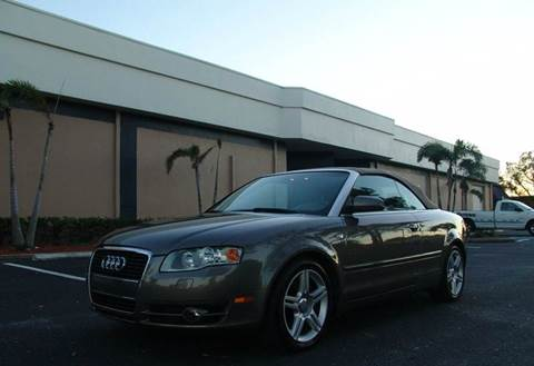 2007 Audi A4 for sale at Clearwater Auto Sales in Clearwater FL