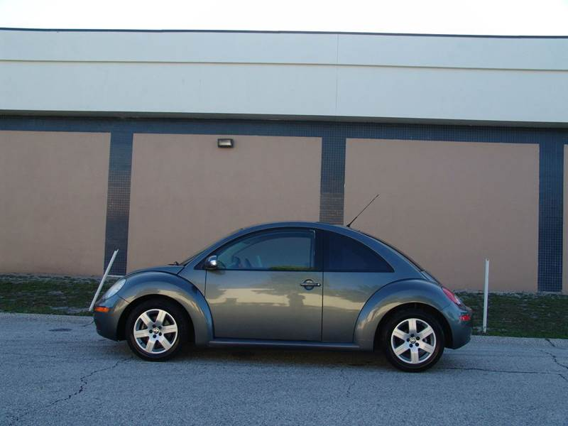 2007 Volkswagen New Beetle for sale at Clearwater Auto Sales in Clearwater FL