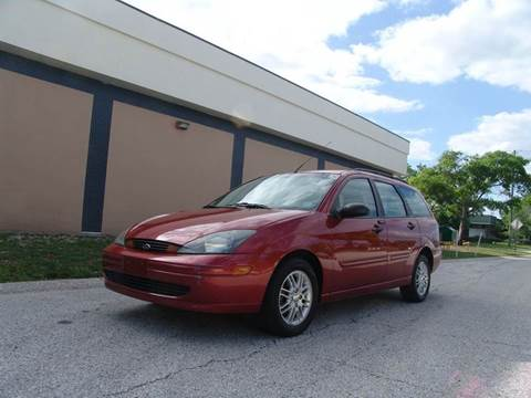 2004 Ford Focus for sale at Clearwater Auto Sales in Clearwater FL