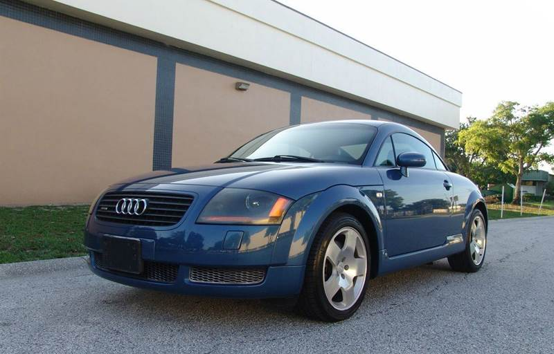Tt Auto Sales >> 2001 Audi Tt 225hp Quattro Awd 2dr Hatchback In Clearwater