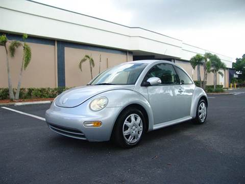 2005 Volkswagen New Beetle for sale at Clearwater Auto Sales in Clearwater FL