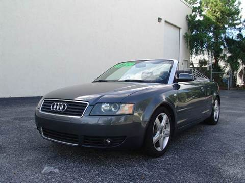 2003 Audi A4 for sale at Clearwater Auto Sales in Clearwater FL