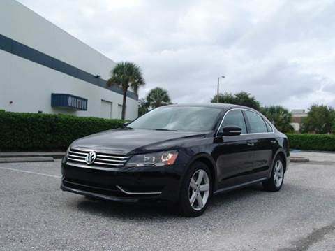 2012 Volkswagen Passat for sale at Clearwater Auto Sales in Clearwater FL