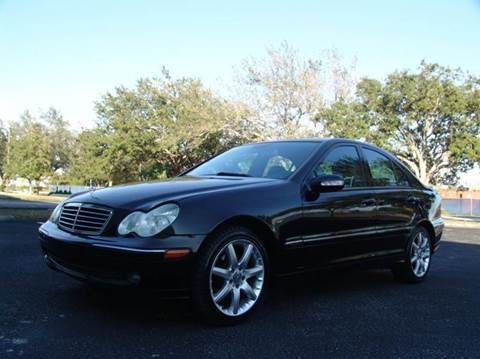 2004 Mercedes-Benz C-Class for sale at Clearwater Auto Sales in Clearwater FL
