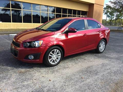 2012 Chevrolet Sonic for sale at Clearwater Auto Sales in Clearwater FL