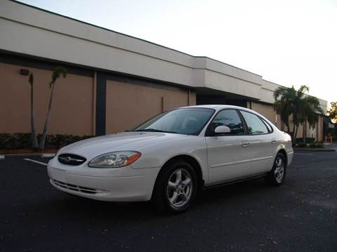 2003 Ford Taurus for sale at Clearwater Auto Sales in Clearwater FL