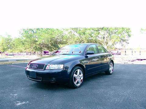2004 Audi A4 for sale at Clearwater Auto Sales in Clearwater FL