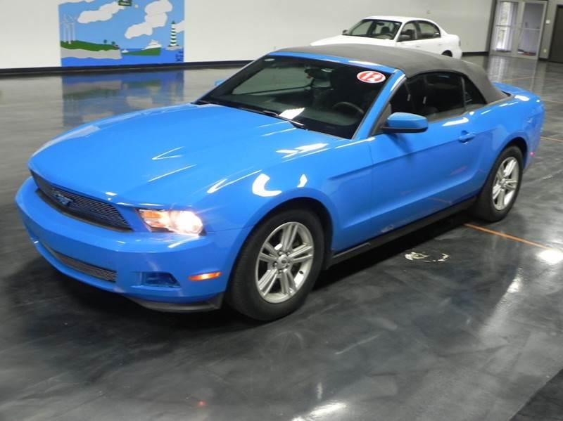 2012 Ford Mustang V6 2dr Convertible - Bad Axe MI