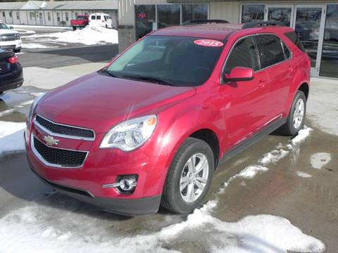 2015 Chevrolet Equinox LT for sale at Thompson Car Co. in Bad Axe MI