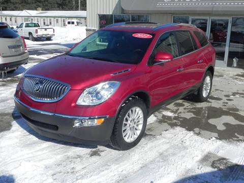 2012 Buick Enclave Leather for sale at Thompson Car Co. in Bad Axe MI