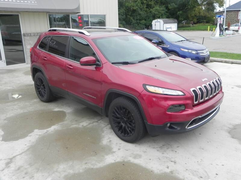 2015 Jeep Cherokee 4x4 Limited 4dr SUV - Bad Axe MI