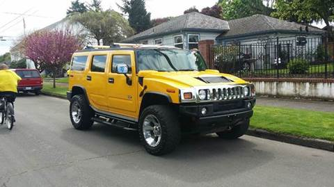 2003 HUMMER H2 for sale at TONY'S AUTO WORLD in Portland OR