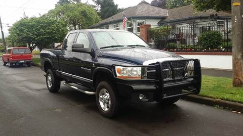 2006 Dodge Ram Pickup 2500 for sale at TONY'S AUTO WORLD in Portland OR