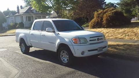 2004 Toyota Tundra for sale at TONY'S AUTO WORLD in Portland OR