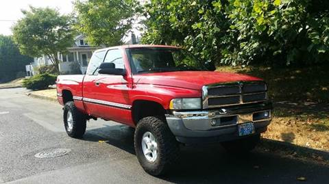 1997 Dodge Ram Pickup 1500 for sale at TONY'S AUTO WORLD in Portland OR