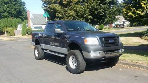 2005 Ford F-150 for sale at TONY'S AUTO WORLD in Portland OR