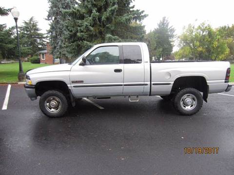 1999 Dodge Ram Pickup 2500 for sale at TONY'S AUTO WORLD in Portland OR