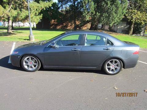 2005 Acura TSX for sale at TONY'S AUTO WORLD in Portland OR