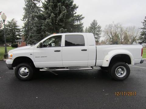 2006 Dodge Ram Pickup 3500 for sale at TONY'S AUTO WORLD in Portland OR
