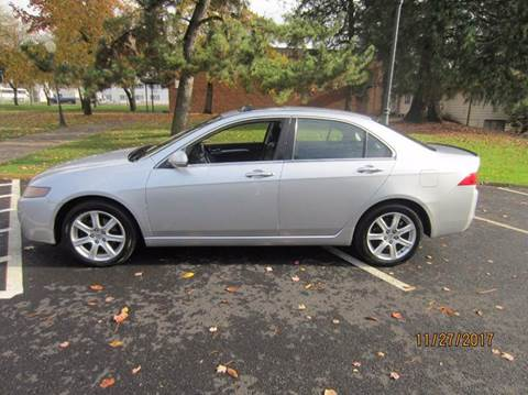 2004 Acura TSX for sale at TONY'S AUTO WORLD in Portland OR