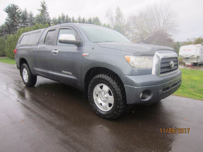 2007 Toyota Tundra Limited 4dr Double Cab 4WD SB (5 7L V8) In