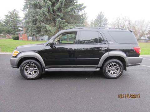 2003 Toyota Sequoia for sale at TONY'S AUTO WORLD in Portland OR