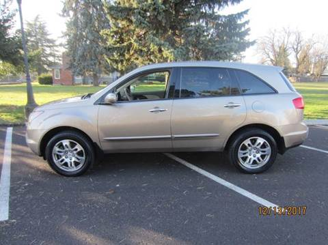 2007 Acura MDX for sale at TONY'S AUTO WORLD in Portland OR