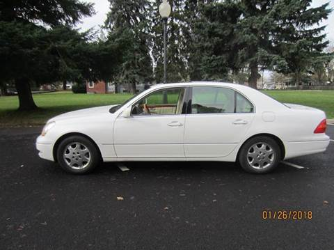 2002 Lexus LS 430 for sale at TONY'S AUTO WORLD in Portland OR