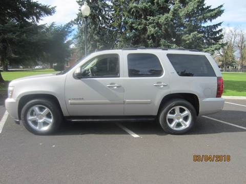 2007 Chevrolet Tahoe for sale at TONY'S AUTO WORLD in Portland OR