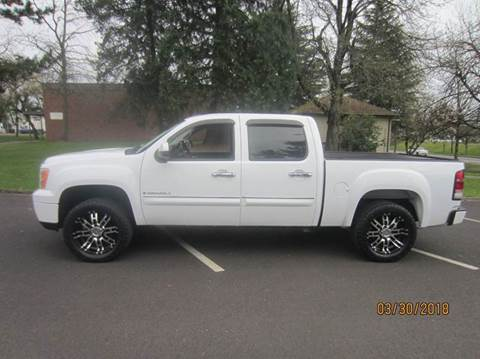2007 GMC Sierra 1500 for sale at TONY'S AUTO WORLD in Portland OR