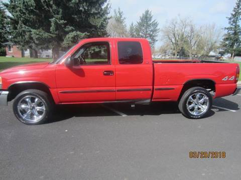 1999 GMC Sierra 1500 for sale at TONY'S AUTO WORLD in Portland OR