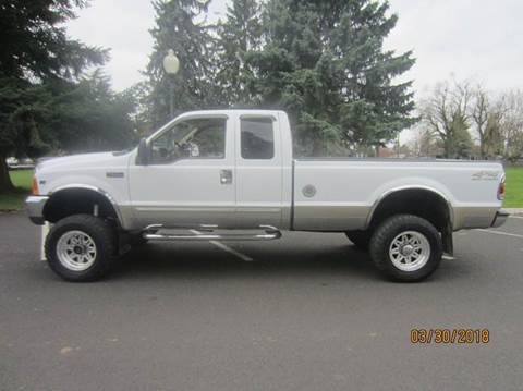2000 Ford F-250 Super Duty for sale at TONY'S AUTO WORLD in Portland OR