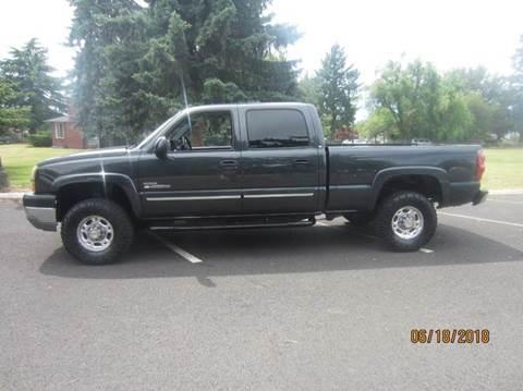 2003 Chevrolet Silverado 2500HD for sale at TONY'S AUTO WORLD in Portland OR