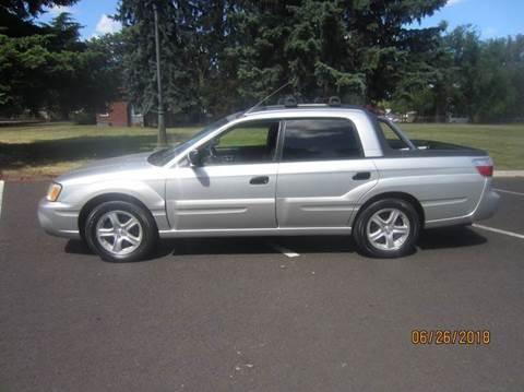 2003 Subaru Baja for sale at TONY'S AUTO WORLD in Portland OR