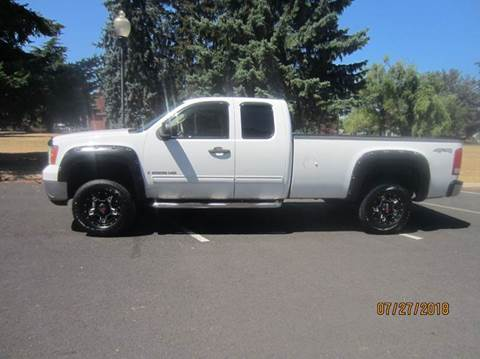 2008 GMC Sierra 2500HD for sale at TONY'S AUTO WORLD in Portland OR