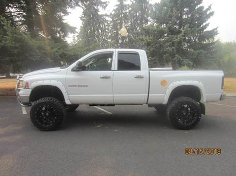 2005 Dodge Ram Pickup 2500 for sale at TONY'S AUTO WORLD in Portland OR