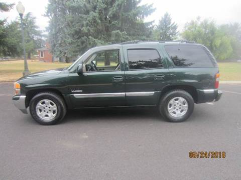 2001 GMC Yukon for sale at TONY'S AUTO WORLD in Portland OR