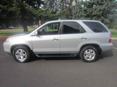 2002 Acura MDX for sale at TONY'S AUTO WORLD in Portland OR