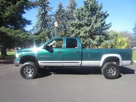 2004 Dodge Ram Pickup 2500 for sale at TONY'S AUTO WORLD in Portland OR