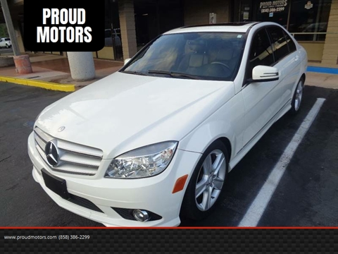 2010 Mercedes Benz C Class For Sale In San Diego, CA