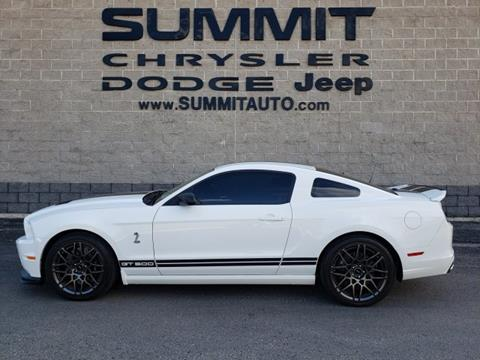 2013 Ford Shelby GT500 for sale in Fond Du Lac, WI