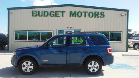 2008 Ford Escape for sale at Budget Motors in Aransas Pass TX